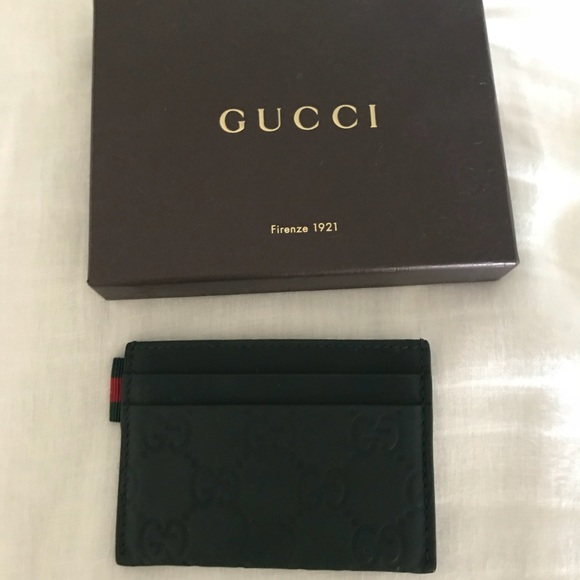 5971d781fded Gucci Accessories | Mens Card Holder | Poshmark